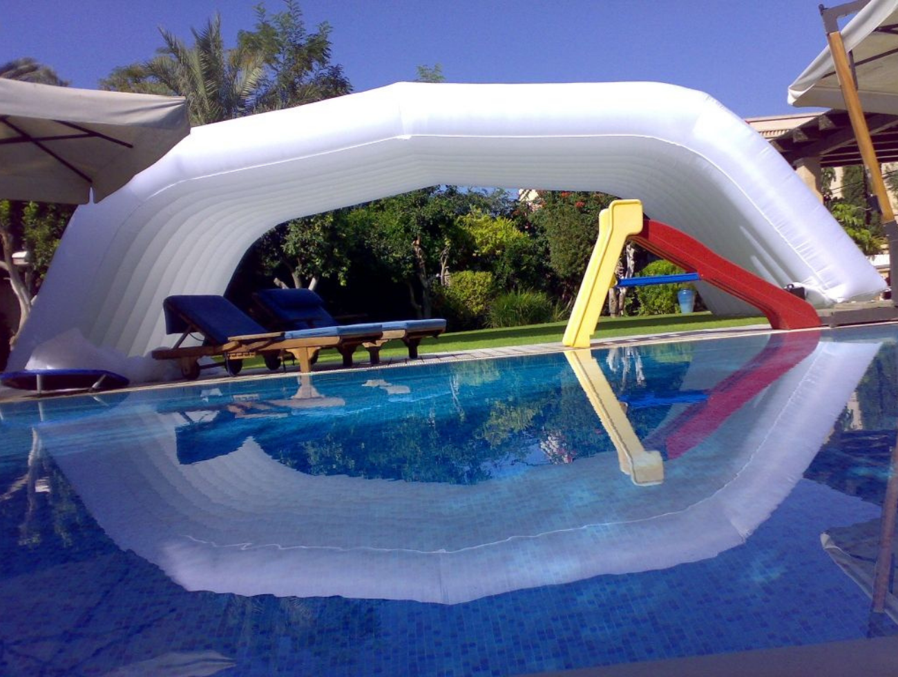 piscine structure gonflable
